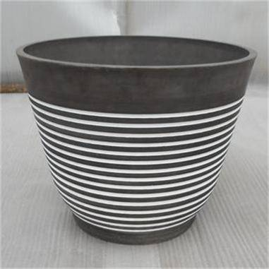 Contemporary Round Flower Pot/ Planter/ Garden pot/ Plant pot