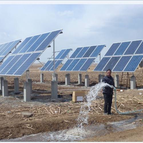 Home used small solar water pump system 1.5KW borehole water pump