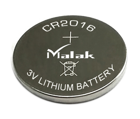 90mAh high capacity CR2016 lithium button cell battery