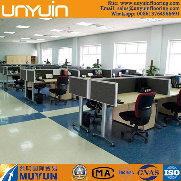 Commercial PVC Vinyl Flooring for Office Building