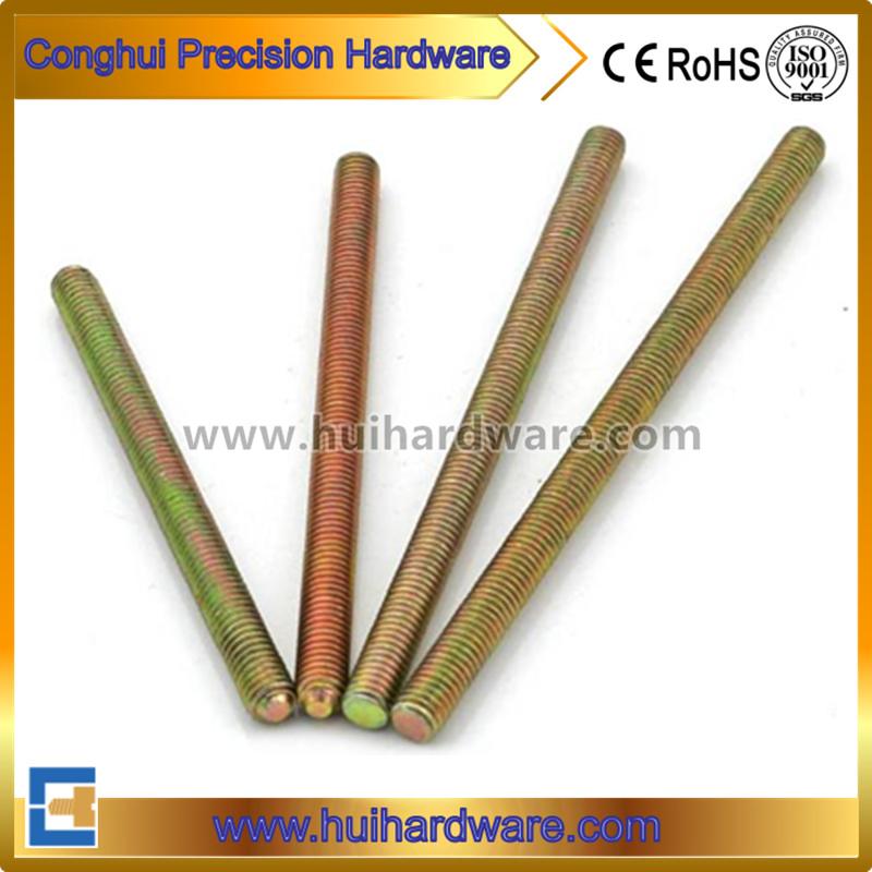 Color Zinc Plated Full Threaded Threaded Rod (DIN975)