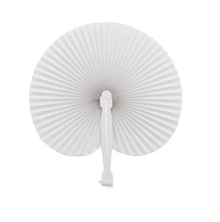 Wedding Decoration Colorful Paper Hand Fan