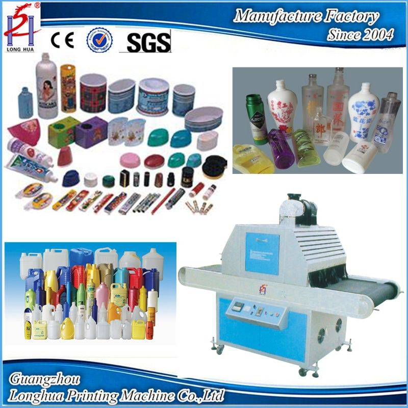 Screen printing machine use UV curing machine