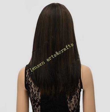 wigs long dark brown style,european style