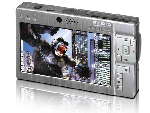 Brand New Archos AV500 Mobile DVR (100GB)