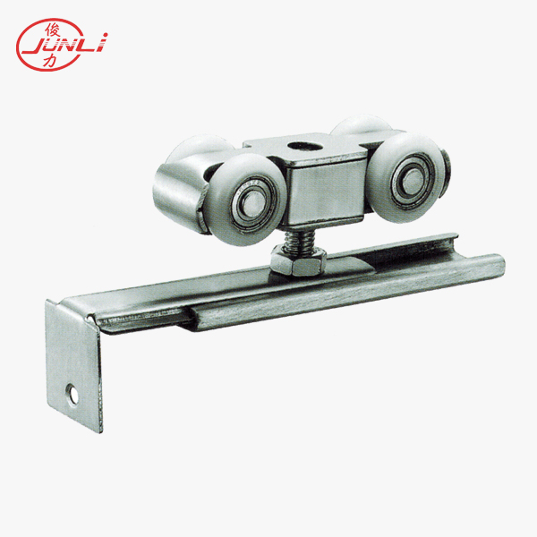 4 wheels Stainless steel sliding door roller