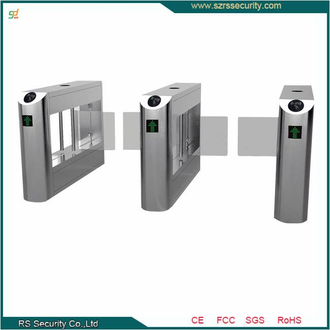 Guangzhou Automatic Swing Barrier/Speed Gate/Turnstile Gate with Reader
