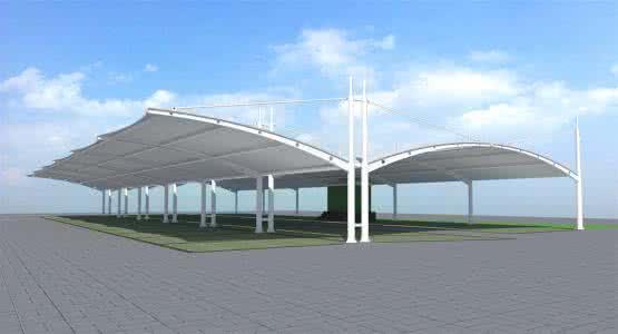 Construction In Architecture Memtrane Structure Function Carport Color Steel Galvanized Garage