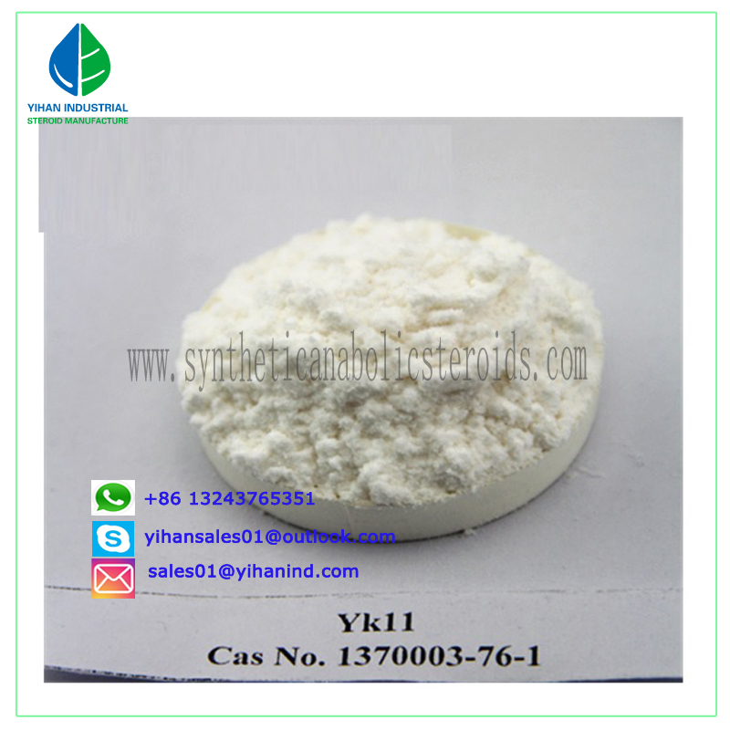 Pharmaceutical Androgenic Sarms Powder Oral Yk11 CAS 431579-34-9 for Muscle Building Judy