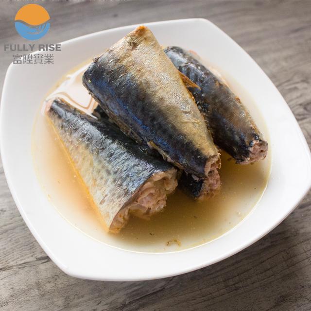 FDA approved canned jack mackerel in brine