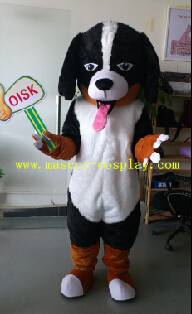OISK Professional custom mascot costume long ear dog mascot adult size