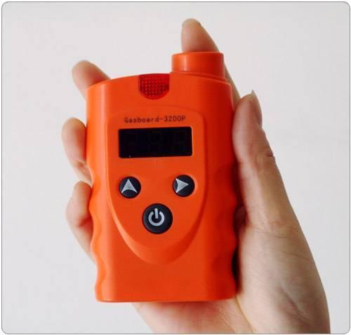 Handheld ECD Carbon Monoxide Detector