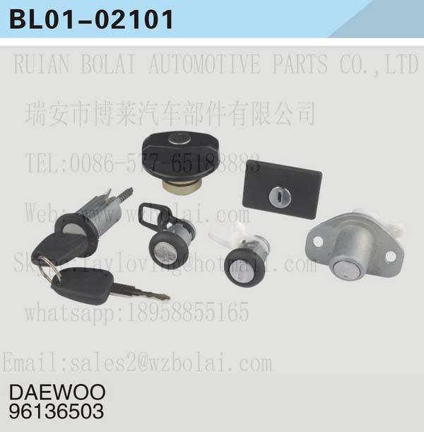 USE FOR Daewoo RACER KEY SET/IGNITION SWITCH 96136503