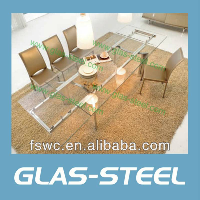 Glas-Steel Extension Dining Table BT920