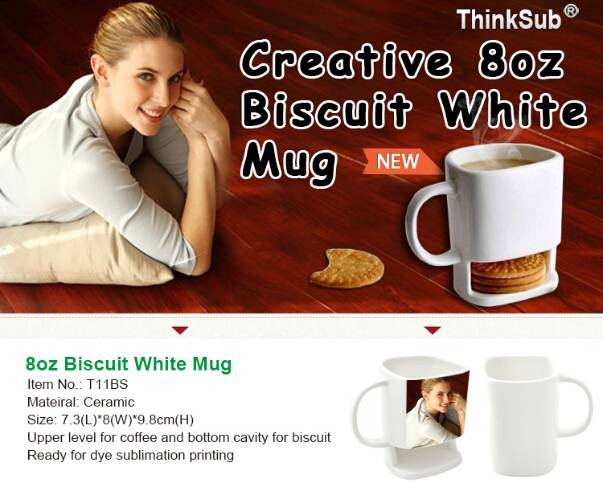Creative Biscuit Coffee Mug
