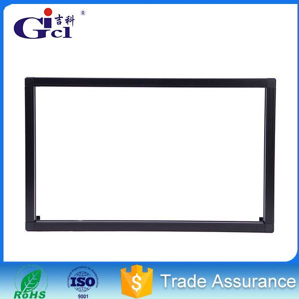 Gicl 5515 led display module p10 led frame aluminum profile indoor single color led sign board displ