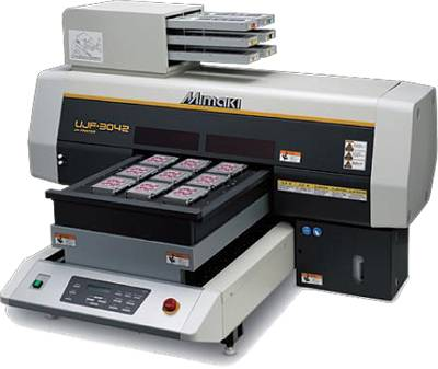 MIMAKI UJF-3042 Desktop Size UV LED Flatbed Printer