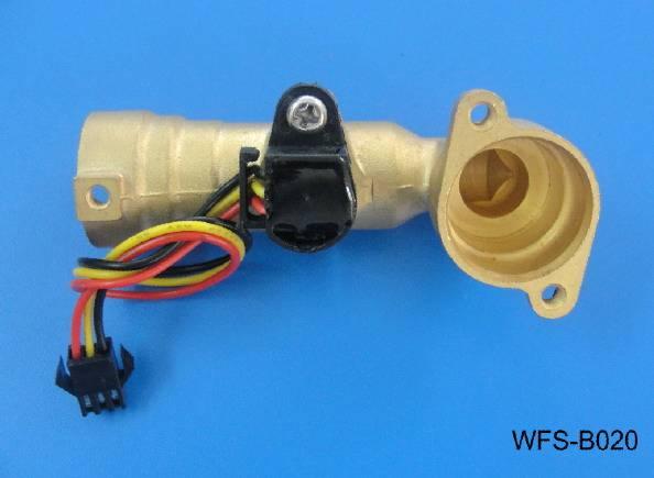 High temperature flow sensor WFS-B020