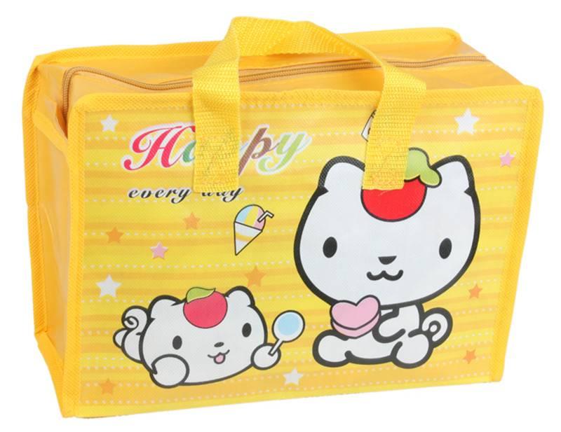 pp non woven cosmetic shopping bag