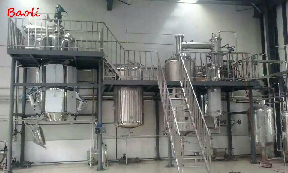 Pharmaceuticals Ethanol Extractor Equipment