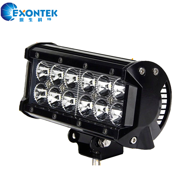 "7"" 36W CREES LED Lights Bar head work lamp Spot 4x4 Off Road Driving headlights waterproof IP67"