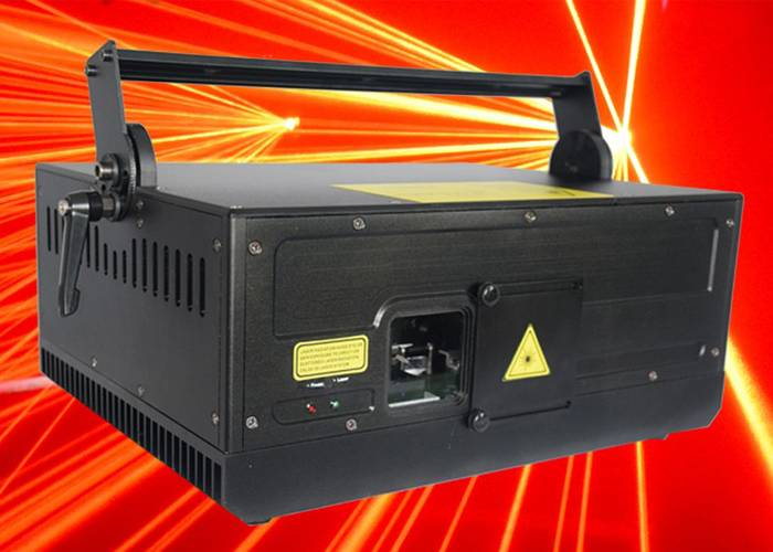 DMX 10000MW Animation RGB Laser Light High Powered Lasers For Entertainment Place