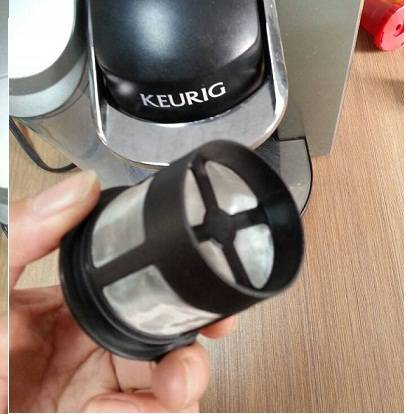 Golden Tone K-cup Coffee Filter for Keurig Coffee Brewer