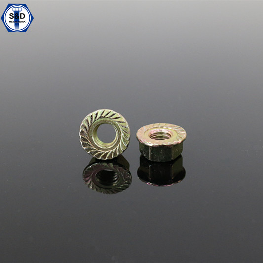 DIN 6923 Flange Nuts with Threaded Connection Flange