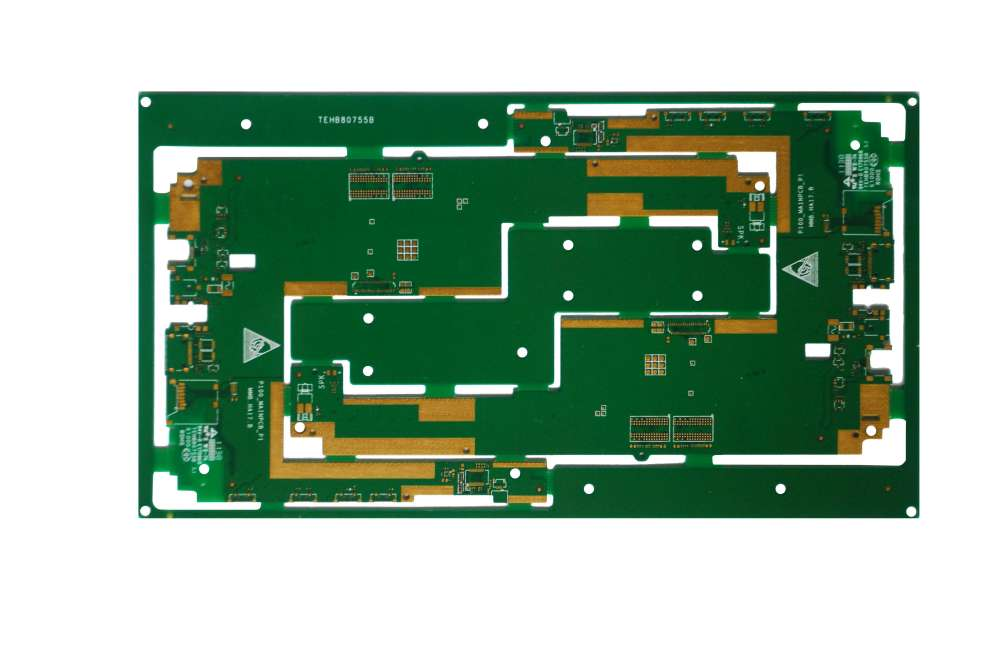 MKTPCB 8layers 2-stage HDI laser blind holes board