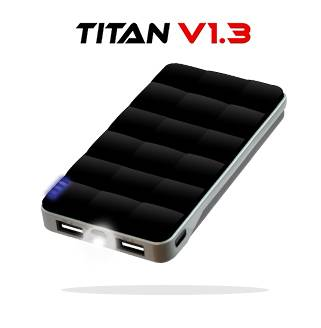 6800mAh External Mobile Battery High Capacity Power Bank, Portable Charger