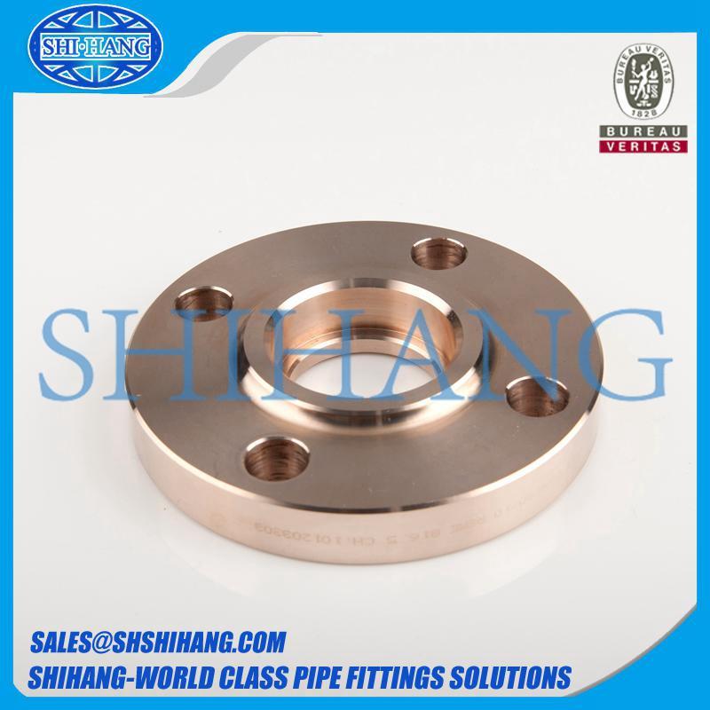 copper nickel cuni 90/10 c70600 socket weld flange