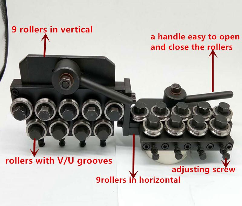0.1-6mm steel / iron wire straightening machine with manual
