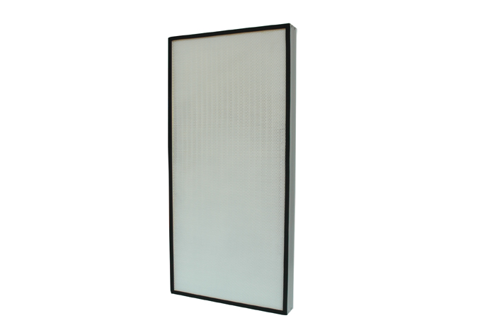 HEPA panel filter for air purifying