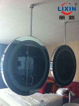 Chain factory directly sell,suspended round mirror