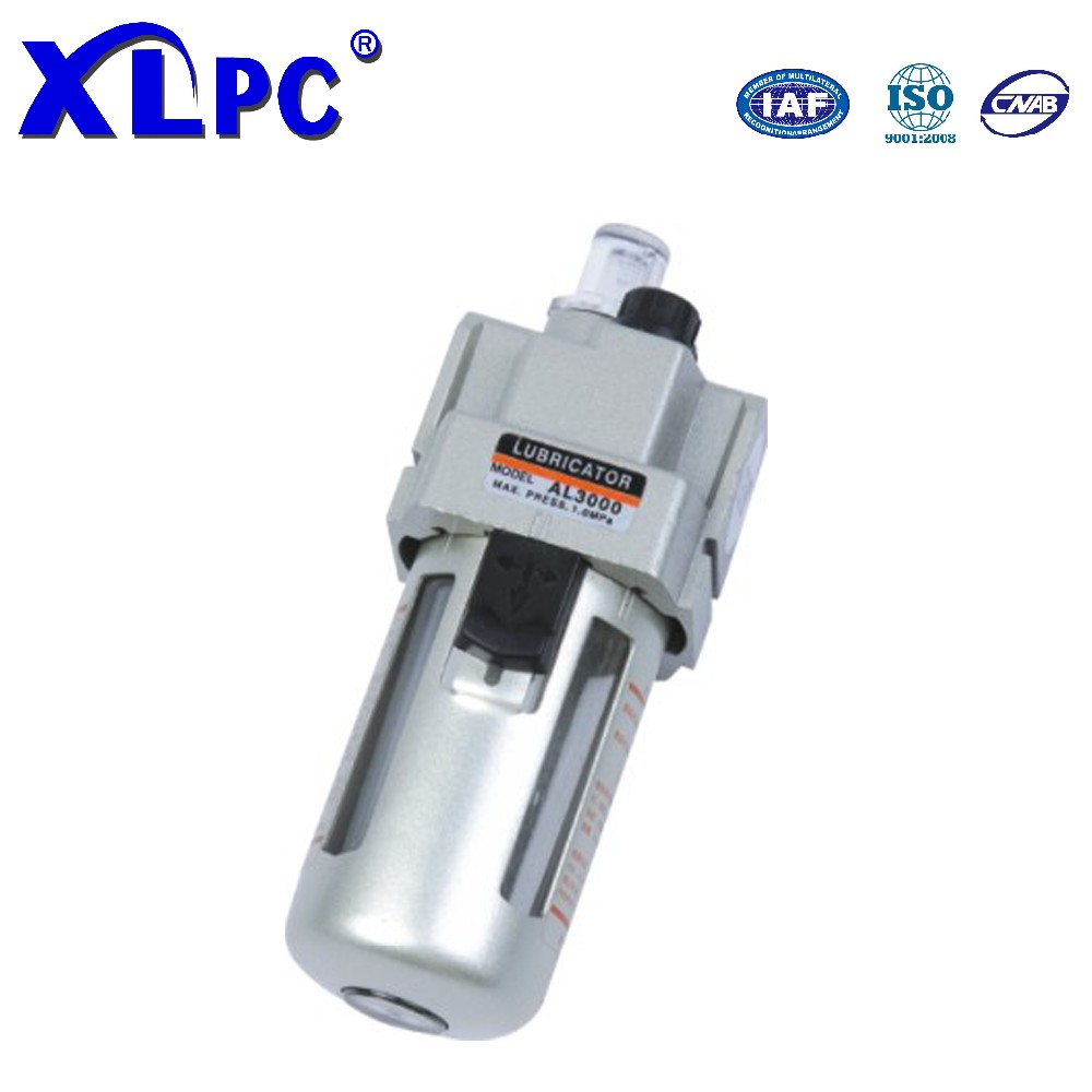 AL2000~5000 Series Pneumatic Oil Air Lubricator SMC Operated Grease Lubricator