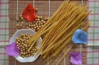 organic soybean fettuccine