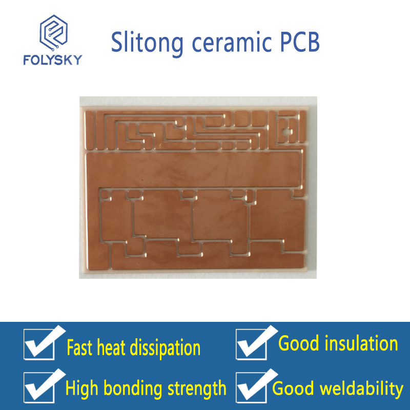 We are specialized in producing ceramic circuit boards, rigid circuit boards, single-sided and doubl