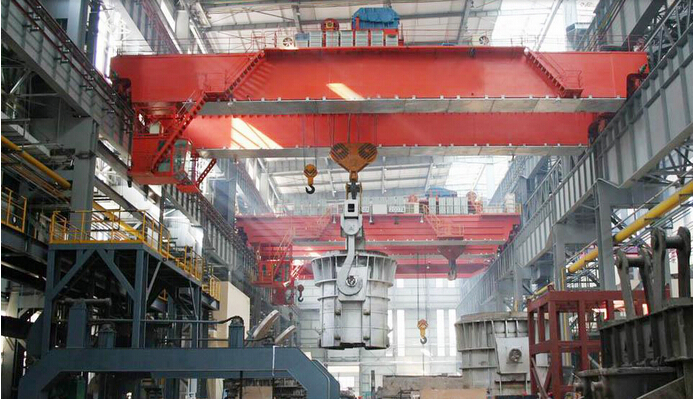 Nucleon QY Type Selling Double Beam Foundry Overhead Crane Use