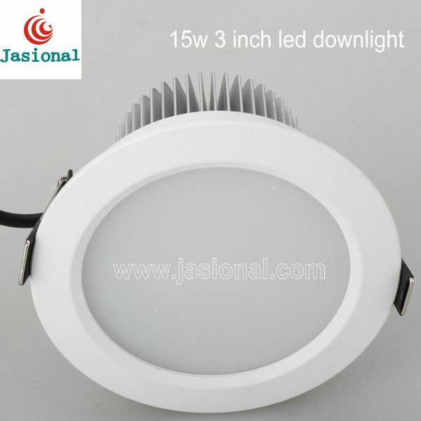 Energy saving 15w 3 inch led lights ceiling for home