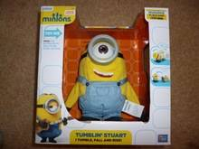 Minion Movie Tumblin Stuart Interactive Talking Moving Toy