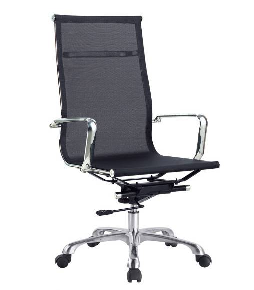 Adjustable mesh office chair with wheels LS-113