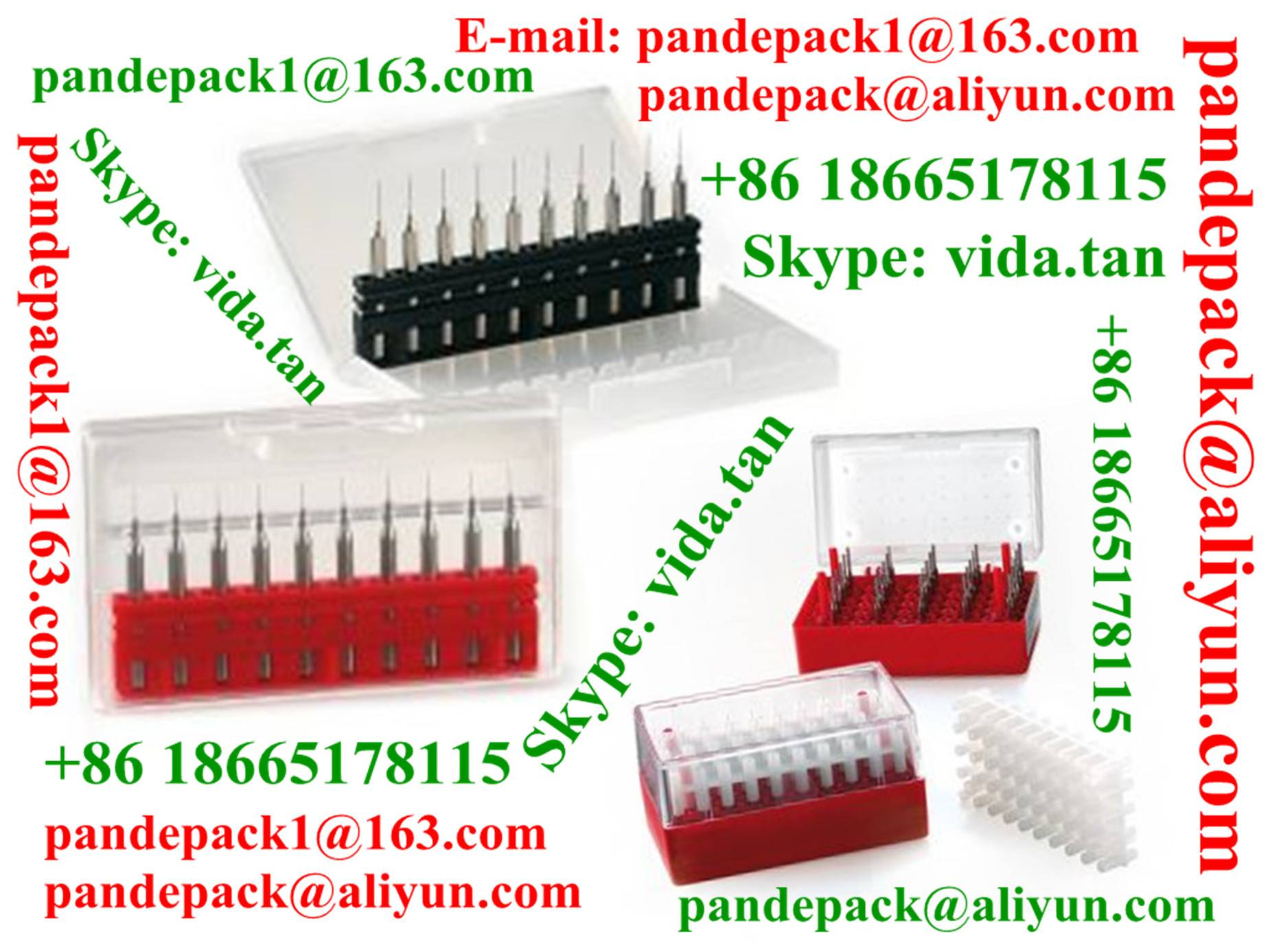 Sell MicroBox/Drill Bit Plastic Box/Pack/Package/CNC Cutting Tool Box/Pack/Tool Box/Pack/Package