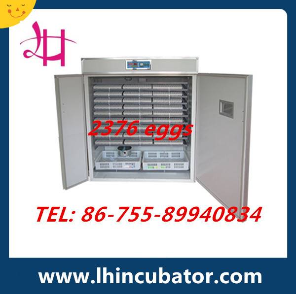 2015 Crazy Promotion Automatic Chicken Egg Incubator Hatching Machine (lh-13)