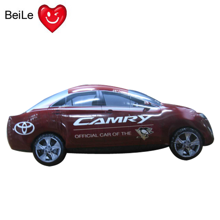 Customized outdoor campaign inflatable car model for sale