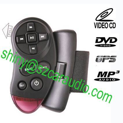 Steering Wheel Replicable Universal Replacement IR Remote Control for Car DVd GPS