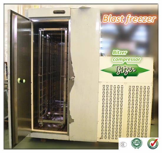 Blast Freezer / Deep Freezer / Freezing Machine
