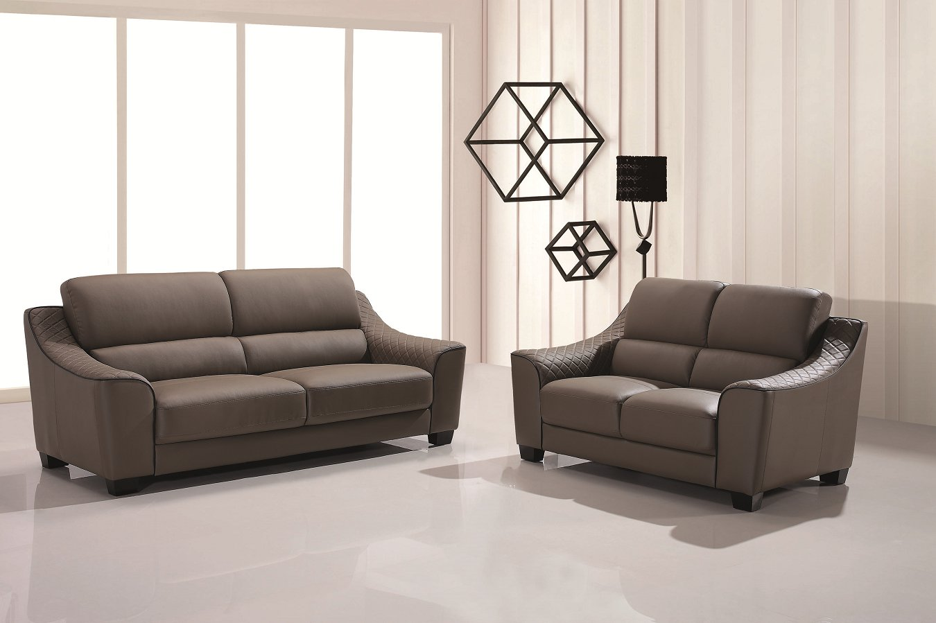 Modern Used Leather Sofa, Recliner Leather Sofa