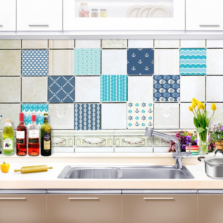Self adhesive Kitchen Sticker Waterproof Removable