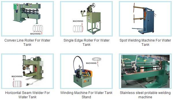 Whole Plant Equipment for Stainless Steel Water Tank