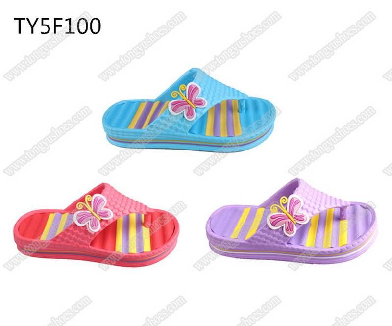 fashion accessories upper children's finished eva slippers